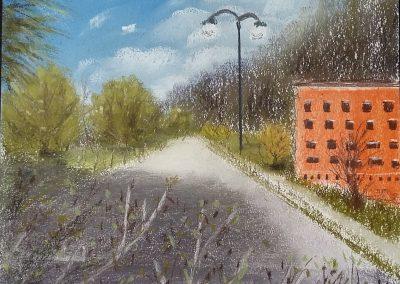 Über den Tiefgaragen - Lavagna - April 2016
