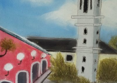Der Weg zur Kirche - Lavagna - April 2016