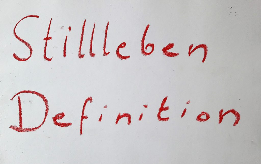Stillleben Definition