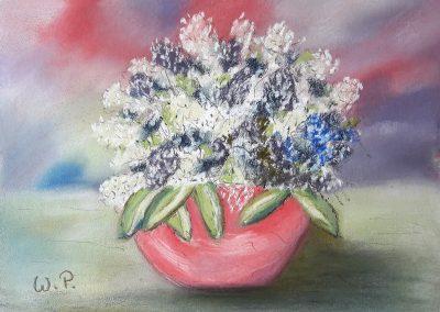 Stillleben Blumenschale
