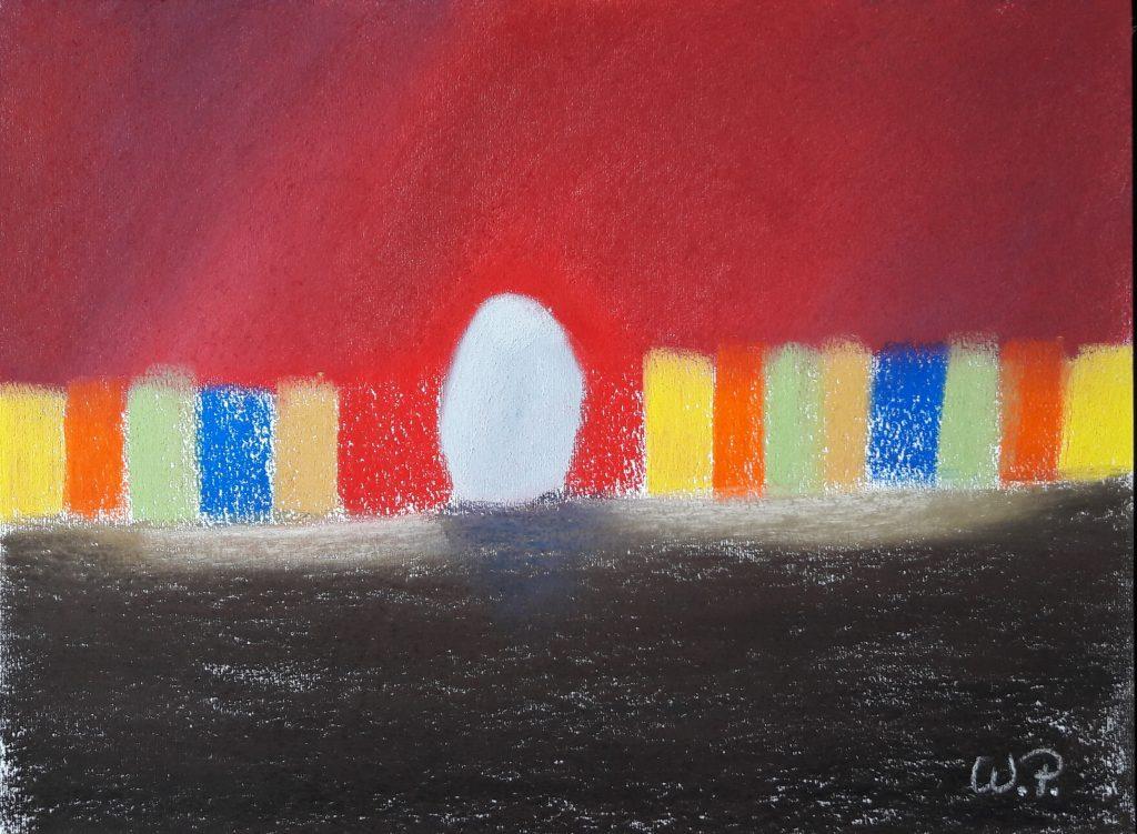 Stillleben Gemälde vereinen Farben und Formen