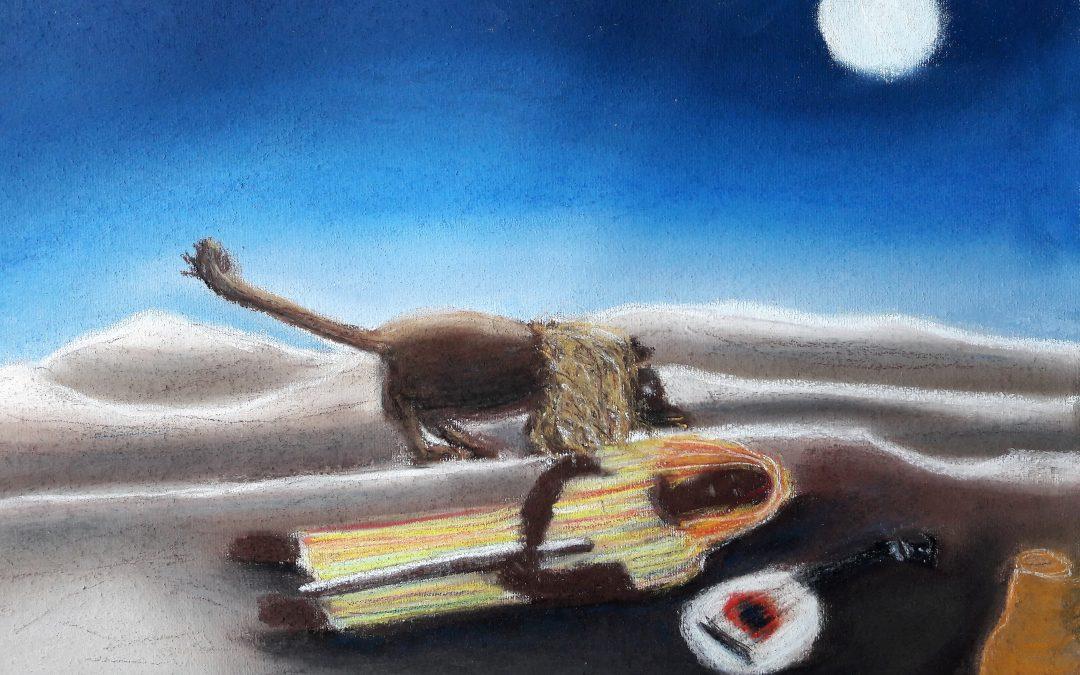 Naive Malerei des Henri Rousseau