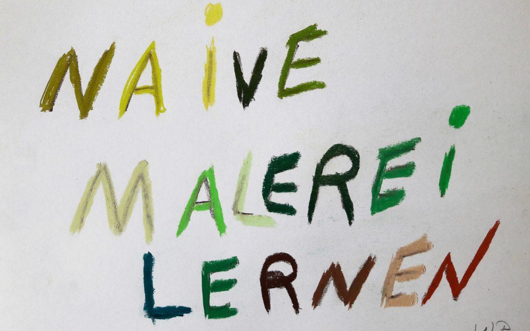 Jetzt mit bunten Farben Naive Malerei lernen