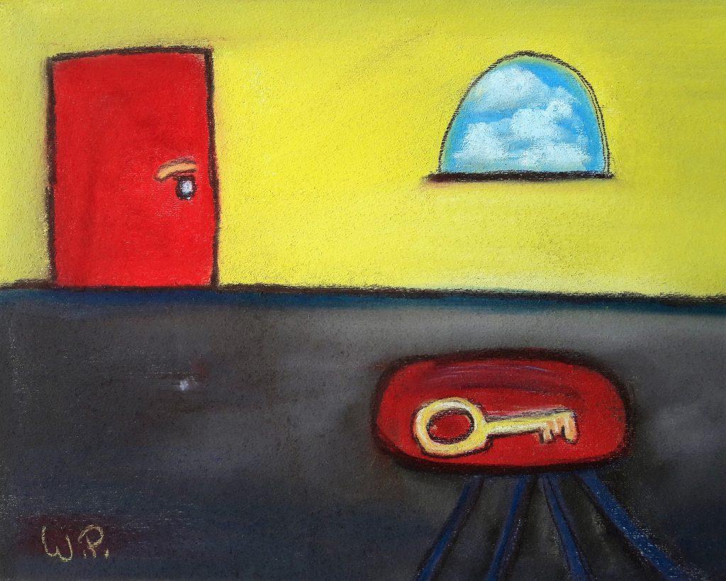 Geheimnisse der Maler zur naiven Kunst