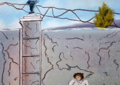 Naive Kunst ist schwer zu fassen bzw. einzugrenzen - siehe die Urlauberin