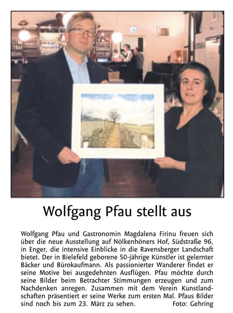Presseartikel KunstausstellungImpressionen Ravensberger Land (1)