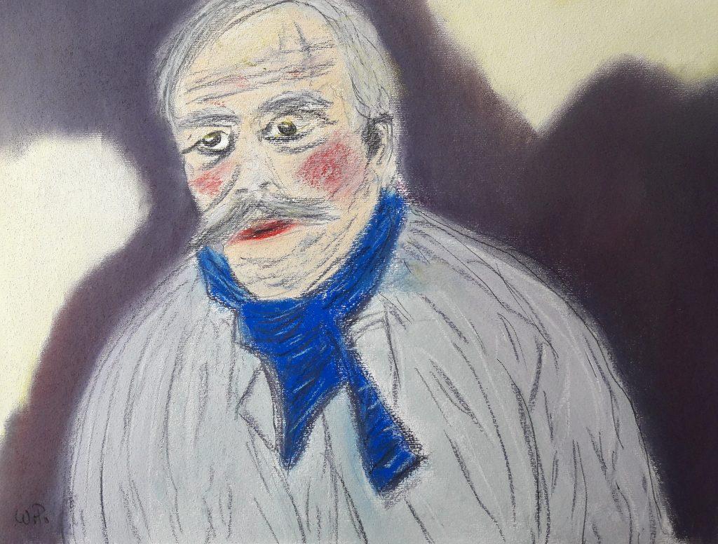 Mein Henri Rousseau Kunstwerk, könnte er so ausgehen haben
